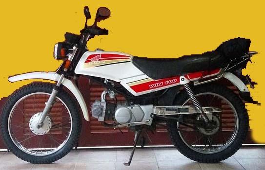 Motor Tua Namun Lincah Honda Win 100 Blibagus